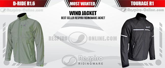 Jaket Respiro BEST SELLER Banner Marketing Resmi dan Toko Online Jaket Respiro Ridingware