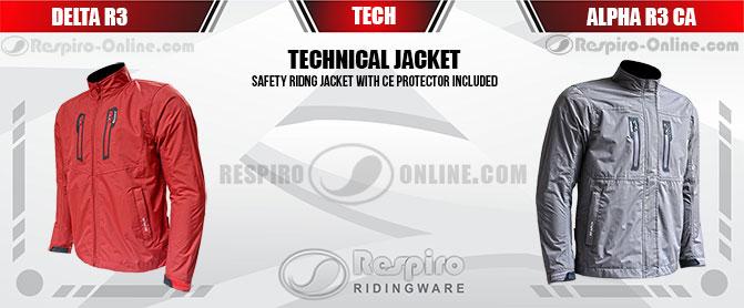 Jual Jaket Respiro Technical Jacket Banner Marketing Resmi dan Toko Online Jaket Respiro Ridingware